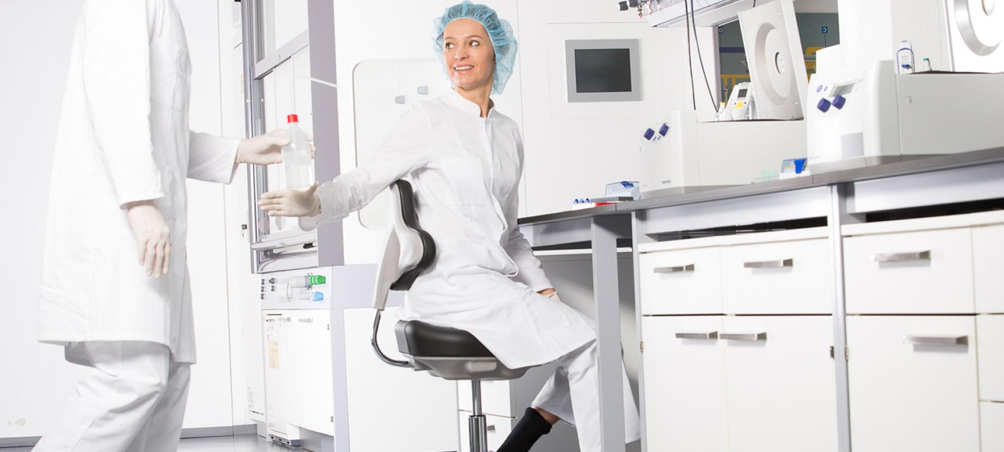 Inrichting voor laboratorium en medische ruimte